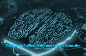 Digital Brain Artificial Intelligence Network Connection Pack - Download Videohive 19176702