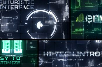 Hi-Tech Intro - Download Videohive 17923283