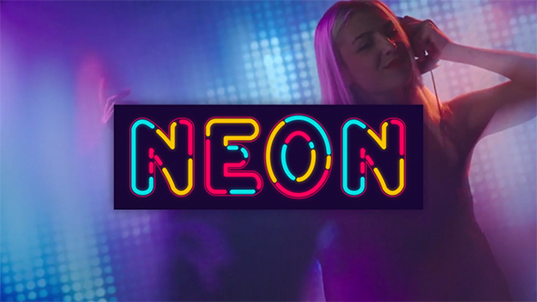 Neon Alphabet - Download Videohive 20933440