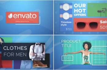Online Shop Promo - Download Videohive 17958763