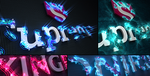 Sci Fi Energy Logo Reveal Pack - Download Videohive 21190788