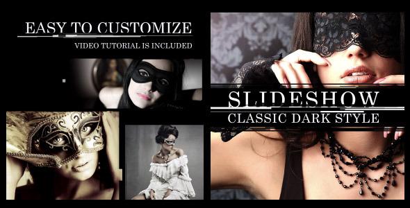 Slideshow Classic Dark Style - Download Videohive 11627615