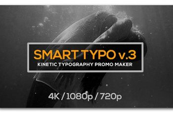 Smart Typography Opener - Download Videohive 19638547
