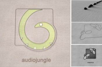 Thread - An Elegant Fabric Sewing Logo Reveal - Download Videohive 7590781