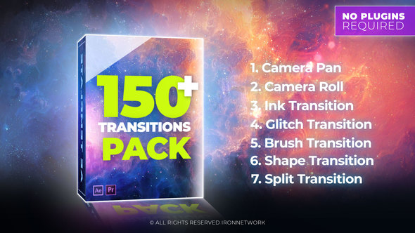 Transitions - Download Videohive 21637768