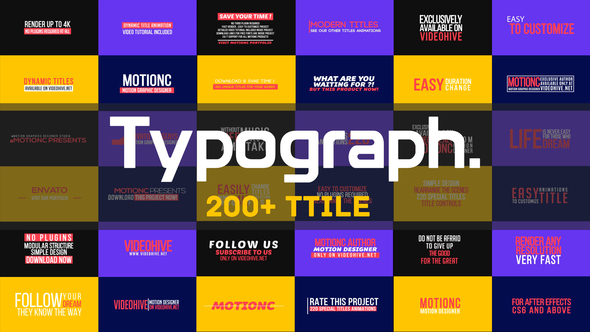 Typograph - Download Videohive 21829693