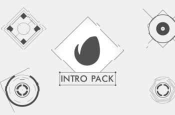 Black White Intro Pack - Download Videohive 15921434