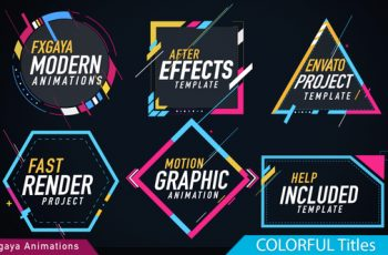 Colorful Titles - Download Videohive 22009789