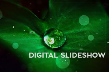 Digital Parallax Slideshow - Download Videohive 19427852