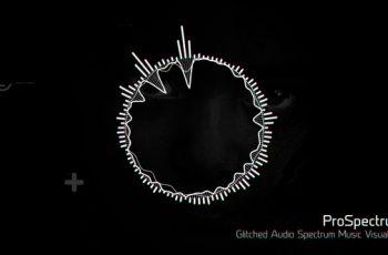 Glitched Audio Spectrum Music Visualizer - Download Videohive 19850765
