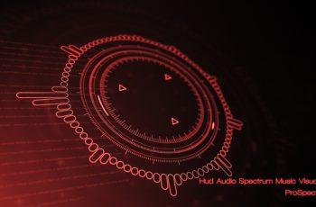 Hud Audio Spectrum Music Visualizer - Download Videohive 21232494