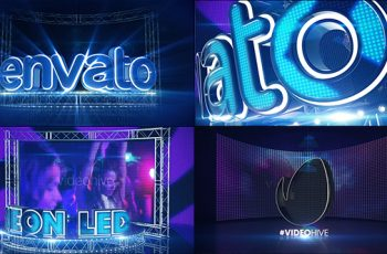 LED Neon Screen - Download Videohive 21488559