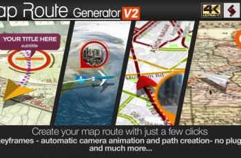 Map Route Generator - Download Videohive 21686169