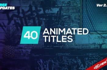 Minmal Dynamic Typography - Download Videohive 22133131