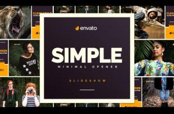 Simple Opener - Download Videohive 20449531