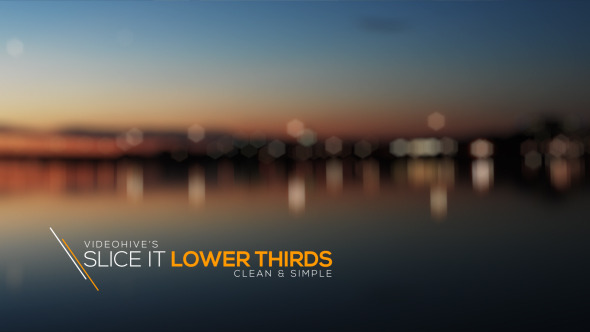 Slice It Lower Thirds - Download Videohive 11427084