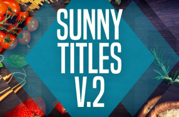 Sunny Titles v.2 - Download Videohive 20604818