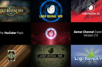 The YouTuber Pack - Gamer Channel Essentials V2 - Download Videohive 17655612