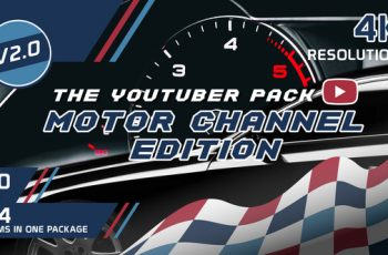 The YouTuber Pack - Motor Channel Edition V2.0 - Download Videohive 21641885