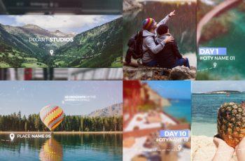 Travel Memories Slideshow - Download Videohive 21713240