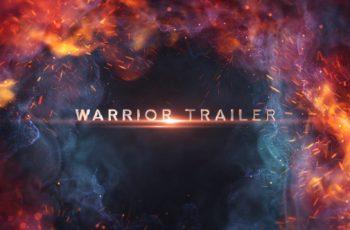 Warrior Trailer Titles - Download Videohive 21359019