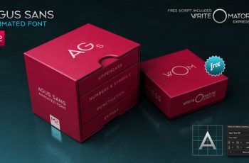 Agus Sans / M2 Animated Font - Download Videohive 20579787