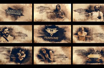 Freeze Moment Grunge Trailer - Download Videohive 22109700