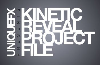 Kinetic Reveal - Download Videohive 137834