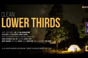Lower Thirds 2.3 - Download Videohive 19927003