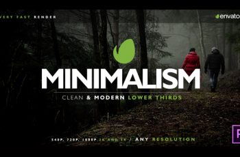 Minimal Lower Thirds for Premiere - Download Videohive 21961265