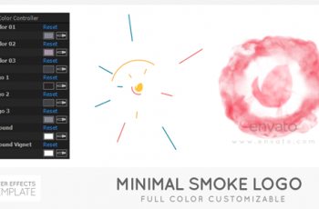Minimal Smoke Logo - Download Videohive 21403298