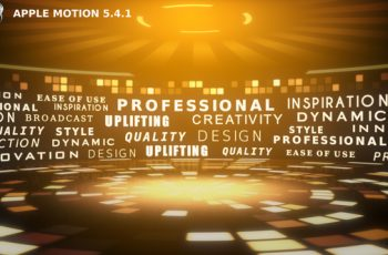 Typography Arena - Apple Motion - Download Videohive 22243570