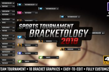 Bracketology Sports Tournament Bracket - Download Videohive 21488906