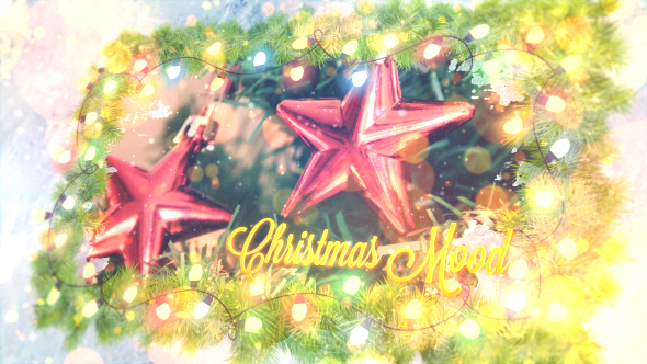 Christmas Mood Lights - Download Videohive 19187026