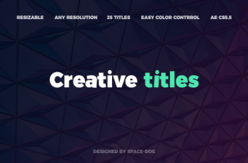 Creative Titles - Download Videohive 20764828
