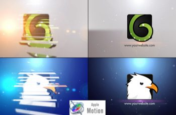 Minimal Slice Logo V2 - Apple Motion - Download Videohive 22605859