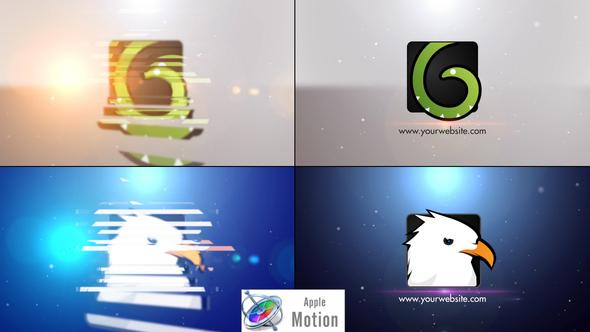Minimal Slice Logo V2 - Apple Motion - Download Videohive 22605859