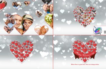 Romantic Hearts Opener Apple Motion - Download Videohive 22568438