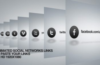 Social network links - Download Videohive 4659956