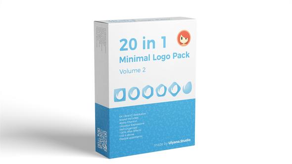 20 in 1 Minimal Logo Pack (vol.2) - Download Videohive 22062270