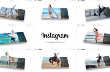 3D Photo Pop Out - Instagram Story - Download Videohive 22605087