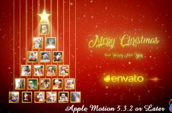 Christmas Tree Photos Opener - Apple Motion - Download Videohive 20904230