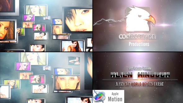 Cinematic Epic Video Logo - Apple Motion - Download Videohive 22663395