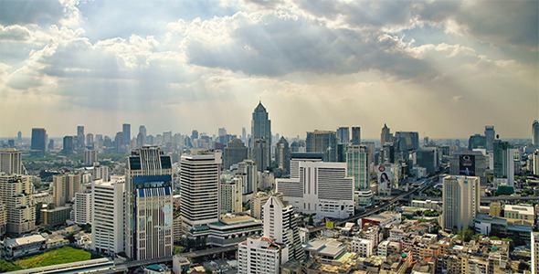 Cityscape Skyline Timelapse 3 Pack - Download Videohive 3731382