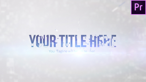 Clean Digital Title - Download Videohive 22673425