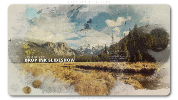Drop Ink Slideshow - Download Videohive 22192491
