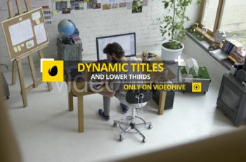 Dynamic Titles and Lower Thirds - Download Videohive 22569572