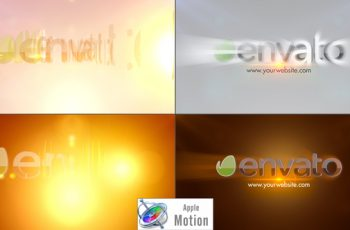 Elegant Rays Logo - Apple Motion - Download Videohive 22701481