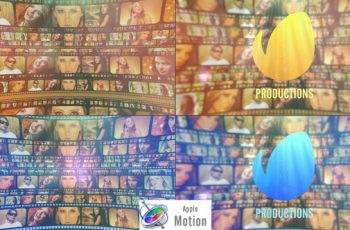 Film Strip Cinematic Logo - Apple Motion - Download Videohive 22701447