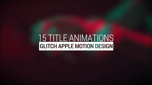Glitch Titles - Download Videohive 15558093
